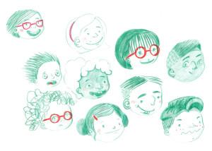 Kids Character Studies